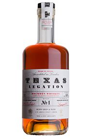Texas Legation Batch No. 2, Texas Bourbon Whiskey, (46.2%) Gift Boxed