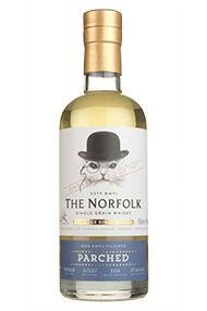 The Norfolk Parched, Single Grain English Whisky, 45%