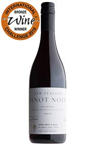 2016 Berry Bros. & Rudd New Zealand Pinot Noir by Greystone Wines
