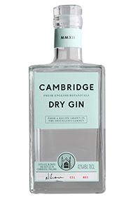 The Cambridge Dry Gin, (42%)