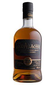 Glenallachie, 25 Year Old, Single Malt Scotch Whisky, Speyside, 48%
