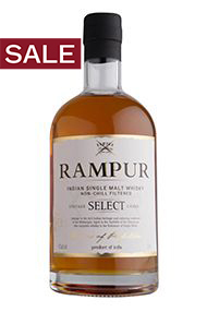 Rampur, Single Malt Indian Whisky, (43%)