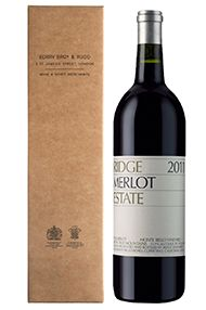 2014 Ridge Estate Merlot, Santa Cruz Mountains, California Gift Box