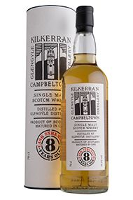 Kilkerran 8-Year-Old, Cask Strength Bottled 2018, Glengyle, 56.5%