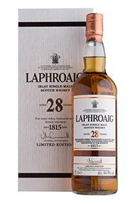 Laphroaig, 28-year-old, Islay, Single Malt Scotch Whisky (44.4%)