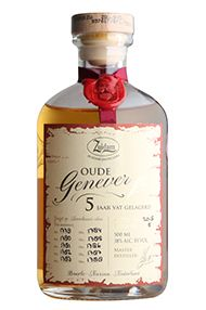 Zuidam Single Barrel, 5-year-old, Zeer Oude Genever Gin (38%)