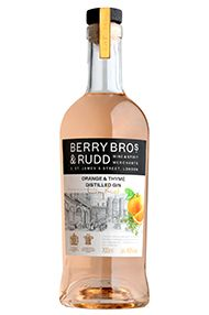Berry Bros. & Rudd Orange and Thyme Distilled Gin, (40%)