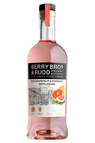 Berry Bros. & Rudd, Pink Grapefruit and Rosemary, Distilled Gin, (40%)
