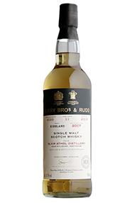 2007 Berrys' Blair Athol, Cask No. 4599, Highlands, Single Malt Whisky,55.7%