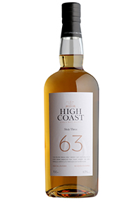 High Coast, Sixty Three, Whisky, Sweden, 63%