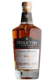 Midleton Very Rare Vintage Release, Btld 2018, Irish Whiskey (40%)