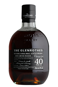 Glenrothes 40-Year-old, Speyside, Single Malt Scotch Whisky (43%)