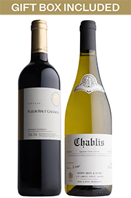 Chablis and Claret, Two-Bottle Case