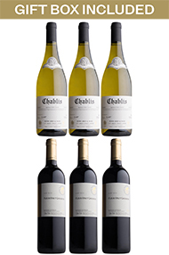 Chablis and Claret, Six-Bottle Case