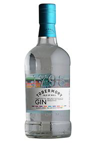 Tobermory, Hebridean Gin, Isle of Mull, (43.3%)