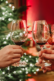 Warehouse Shop Festive Wine Tasting, Saturday 7th December 2019