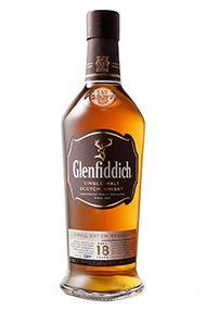 Glenfiddich, 18-year-old, Speyside, Single Malt Scotch Whisky (40%)
