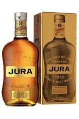 Isle of Jura 16-year-old, Isle of Jura, Single Malt Whisky, (40.0%)