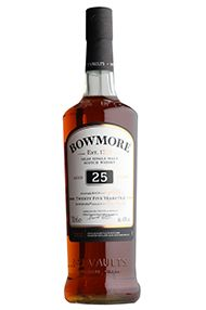 Bowmore 25-year-old, Islay, Single Malt Whisky, 43%