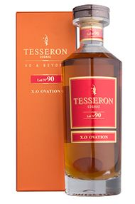 Cognac Tesseron Lot 90, X.O. Ovation, 40.0%