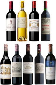 2008 Bordeaux Primeur Cru, Assortment Case Red/White (9 Btl)