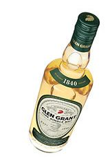1960 Glen Grant, Speyside, Single Malt Scotch Whisky (40%)