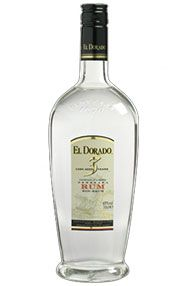 El Dorado, 3-year-old, White Guyana Rum (40%)