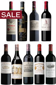 2000 Bordeaux Premier Cru, Assortment Case (9 Btl)