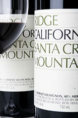 2007 Ridge, Santa Cruz Mountains, Cab Sauv/Merlot, California