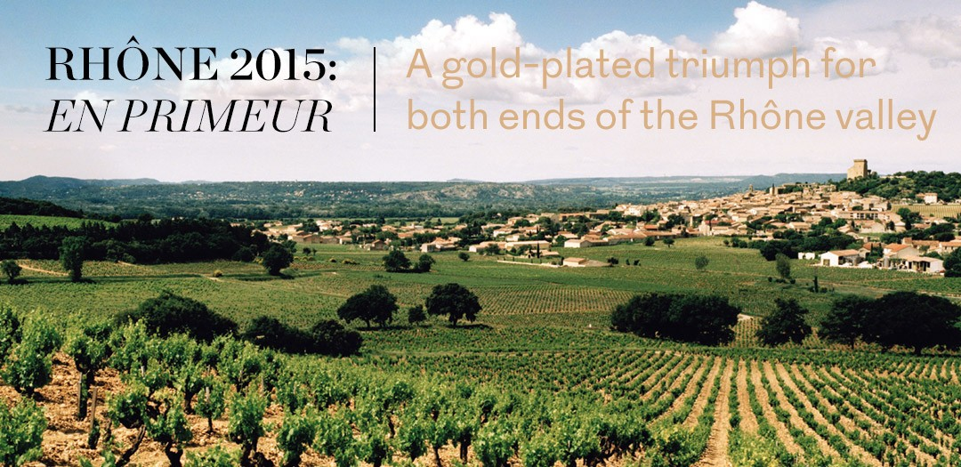 Rhône 2015 en primeur available at Berry Bros. & Rudd