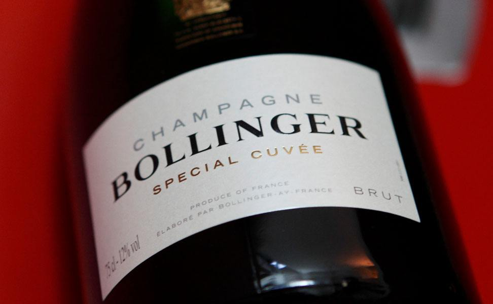 Up to 25% off Bollinger at Berry Bros. & Rudd