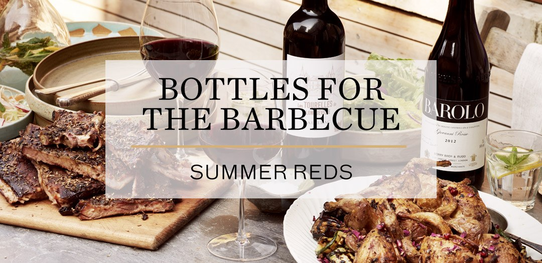 Summer reds for the barbecue now available at Berry Bros. & Rudd